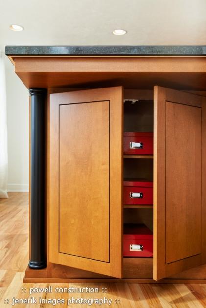 Custom Biedemeier cabinetry Kitchen Remodel Corvallis Oregon