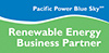 Pacific Power Blue Sky Renewable Energy Business Partner