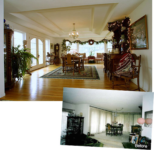 Dining Room Addition Contractors Corvallis Oregon