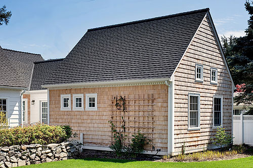 Cape Cod Addition with Cedar Siding Corvallis Oregon