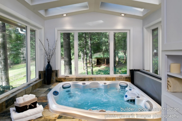 Master Bath With Hot Tub Powell Construction