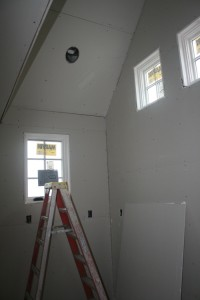 Some of the windows in the kitchen addition.