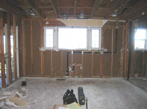 Existing Kitchen Demolished