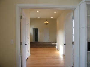 Entry into Master Suite Addition