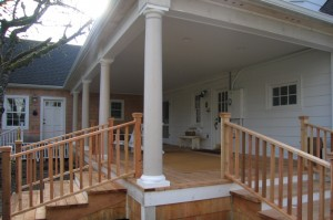 View of New Back Porch