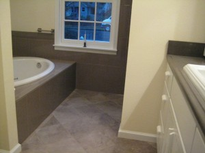 View into Master Bath from Master Suite