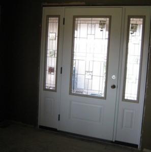 Front Door During