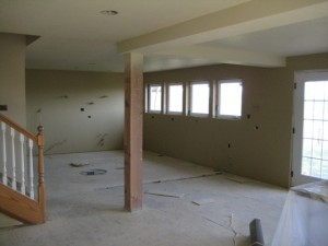 Kitchen and Dining Room During