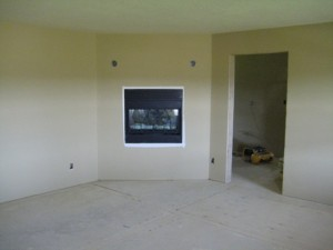 Master Bedroom During