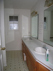 Master Bath Before