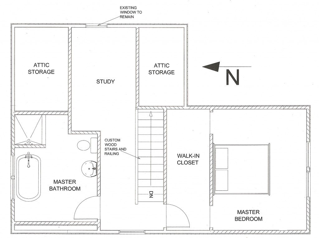 Attic Addition Floor Plan