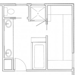 Remodeled Floor Plan