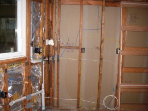 Rough Electrical and Plumbing