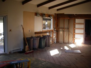 The Demoed Kitchen