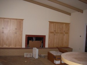 Family Room Built-Ins