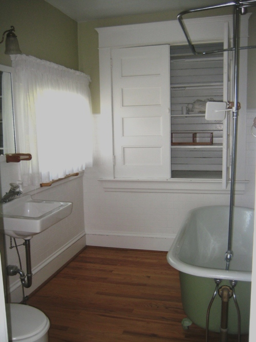 Bathroom Remodel In Historic Home Powell Construction - How to remodel bathroom floor