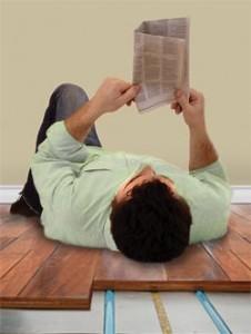 Warm Feet with Radiant Floor Heating