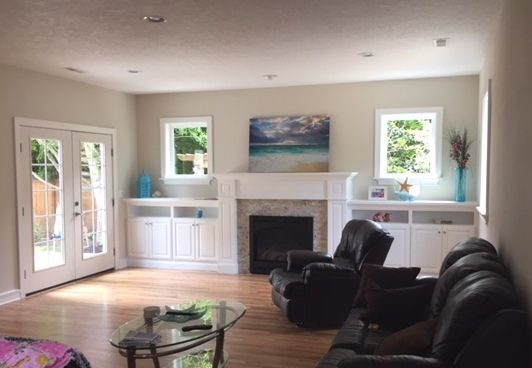 Family room addition in Corvallis, Oregon