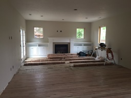 Corvallis Family Room Progress #6