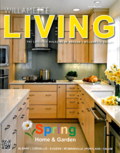 Front Cover of Willamette Living April-May Issue