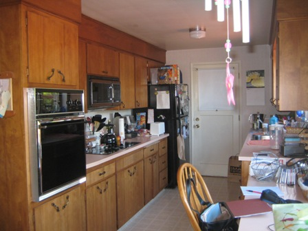 Small Kitchen Expanded Into Dining Room