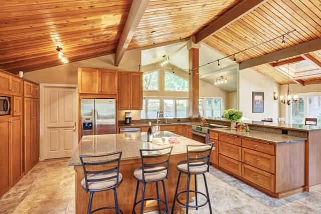 Kitchen open to greatroom
