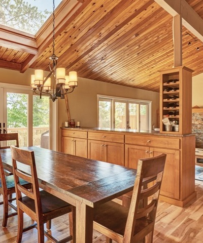 Lodge Inspired Open Concept Floorplan in Corvallis