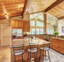 This Corvallis home remodel completely changed the look and feel of the space.