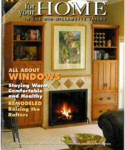 Gazette Times article on Raising the Rafters of home for higher ceilings | For Your Home Fall 2005