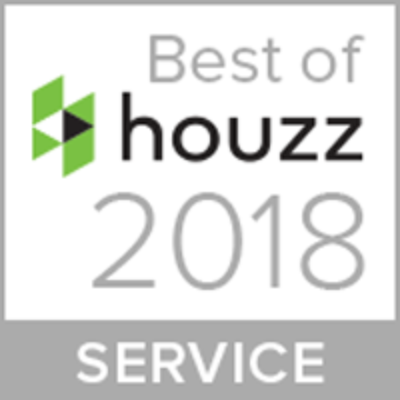 Houzz 2018 Service Award