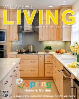 Magazine cover featuring Powell Construction renovation of a historic Corvallis home.