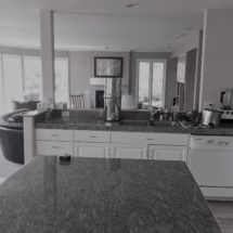 bw living kitchen