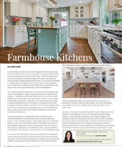 Farmhouse Kitchens | Willamette Living Magazine April/May 2020
